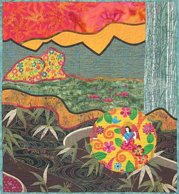 Bayou Bend Art Print by Salli McQuaid