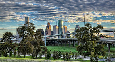 Photograph - Bayou City by Chris Multop
