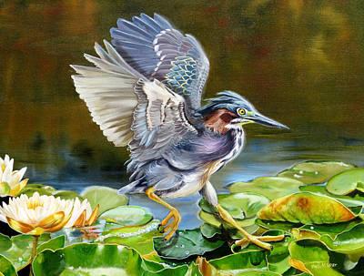 Painting - Bayou Rhythm by Phyllis Beiser