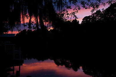 Photograph - Bayou Sunset by Lana Trussell
