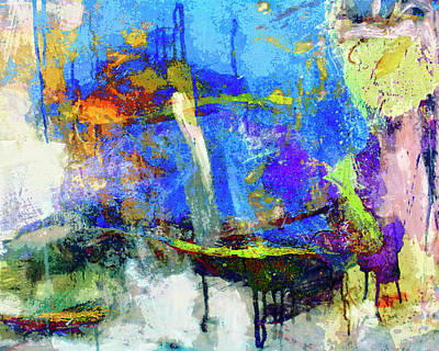 Art Print featuring the painting Bayou Teche by Dominic Piperata