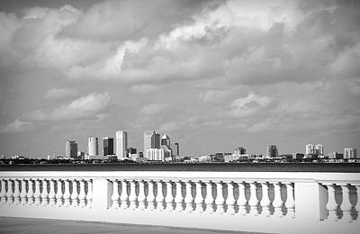 Photograph - Bayshore In Black And White  by Aimee L Maher Photography and Art Visit ALMGallerydotcom