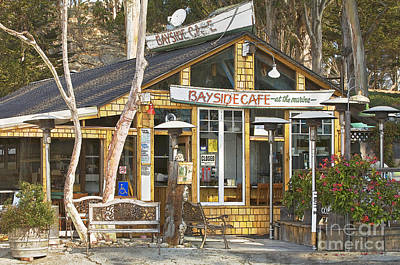 Photograph - Bayside Cafe by Alice Cahill