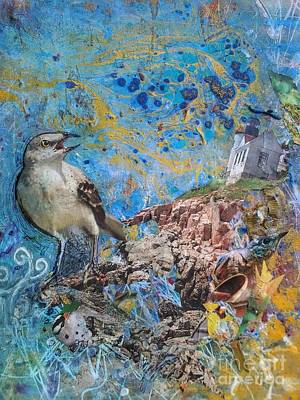 Reverie Mixed Media - Bayside Dream by Megan Henrich