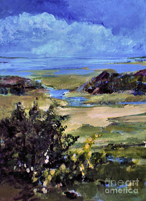 Painting - Bayside Inlet by Diane Ursin