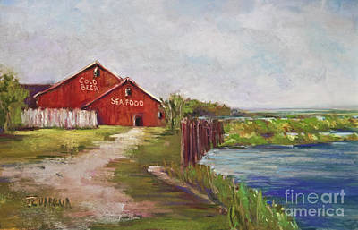 Pastel - Bayside by Joyce A Guariglia