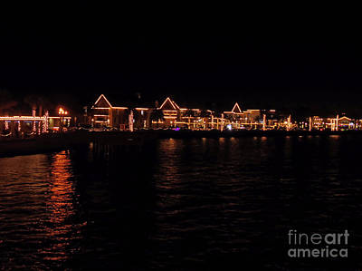 Photograph - Bayside Night Of Lights by D Hackett