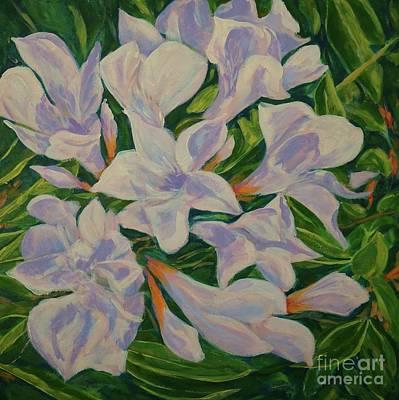 Painting - Bayside Oleander by Gail Kent