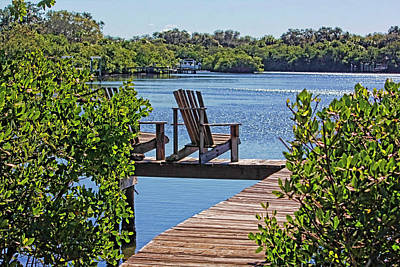 Photograph - Bayside Respite by HH Photography of Florida