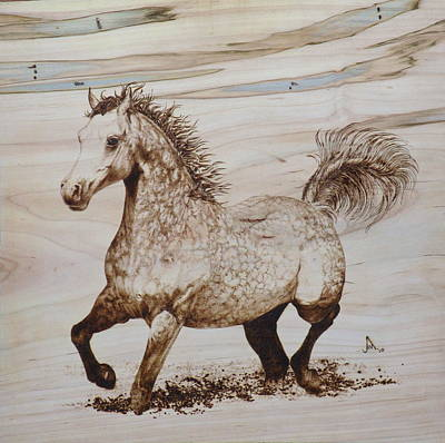 Pyrography Pyrography - Baytar The Bold by Jerrywayne Anderson