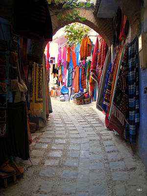 Morroco Photograph - Bazar by S Ray
