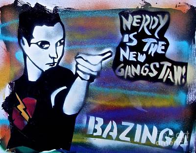 Romantic French Magazine Covers - Bazinga Nerdy Gangstah by Tony B Conscious