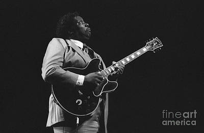 Musicians Photograph - Bb King And The Blue Note by Philippe Taka