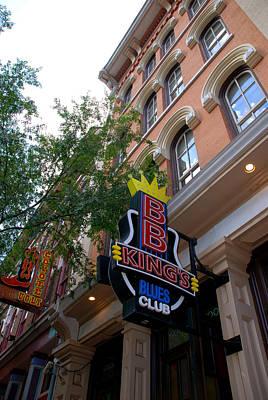 Bb King Bar Nashville Art Print by Susanne Van Hulst