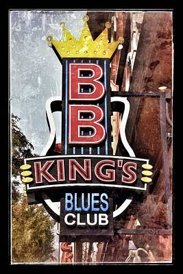 Digital Art - Bb King Blues Club - Nashville Tn by Debra Martz