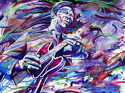 Painting - B.b. King-make Her Sing by Joshua Morton