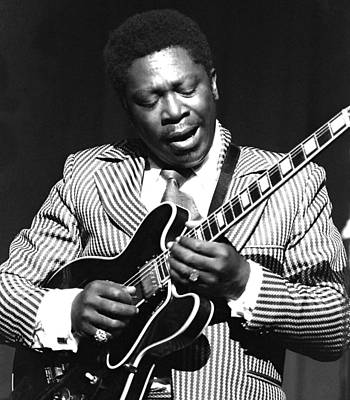 Bb King - Strummin' Art Print