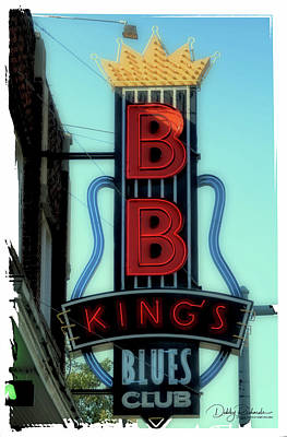 Photograph - Bb King's Blues Club by Debby Richards