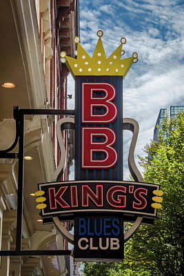 Photograph - Bb King's Blues Club - Honky Tonk Row by Debra Martz