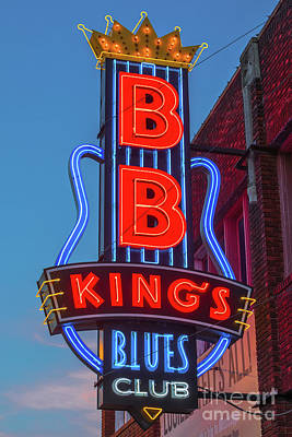 Photograph - Bb King's Blues Club's Blues Club by Jerry Fornarotto