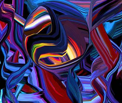 Digital Art - Bb La Wave by Phillip Mossbarger