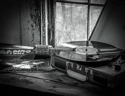 Photograph - B.b. On Record by EG Kight