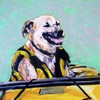 Painting - BB by Sheila Tajima