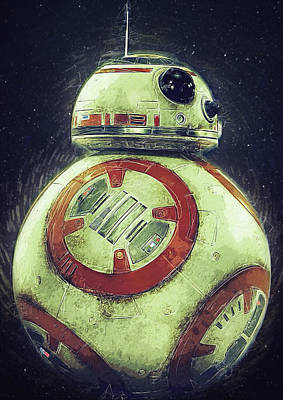Han Digital Art - BB8 by Semih Yurdabak