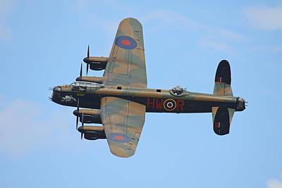 Bbmf Lancaster Bomber Art Print