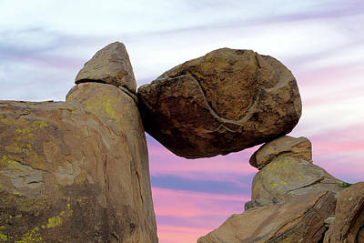 Photograph - Bbnp Balanced Rock 6416 by Rospotte Photography