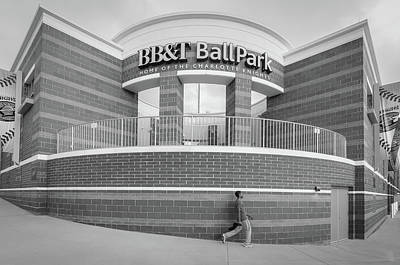 Photograph - Bbt Ballpark Building by Phyllis Peterson