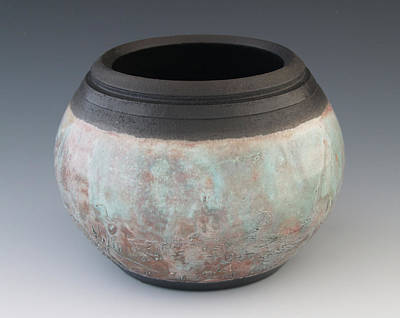Raku Photograph - Bcj View 1 by Beth Shearon