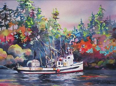 Painting - B.c.'s Bounty by Bonny Roberts