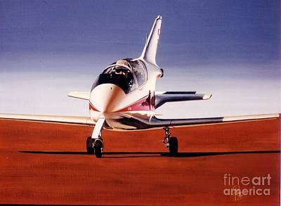 Wall Art - Painting - Bd-5j Micro Jet by Peter Ring Sr