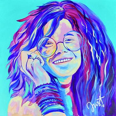 Painting - Be A Janis by Janice Westfall