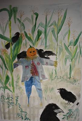 Painting - Be Afraid by Susan Voidets