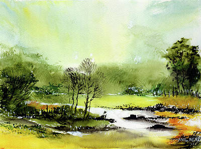 Painting - Be Cool 2 by Anil Nene