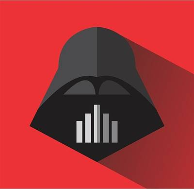 Darth Vader Digital Art - Be Darth by Steve Sanburn
