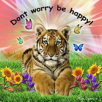 Be Happy Original by Lisa Carian