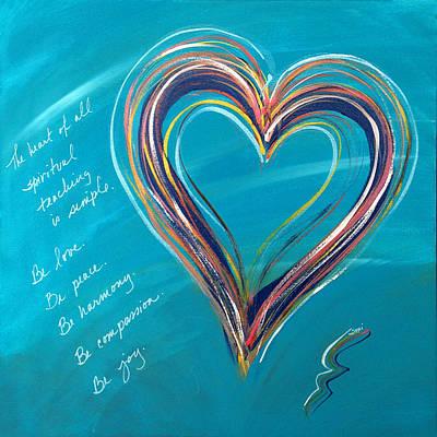 Painting - Be Joy by Su Nimon