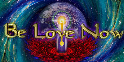 Spiritual Presence Photograph - Be Love Now by Richard Copeland