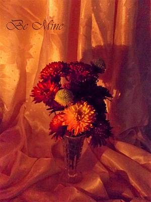 Photograph - Be Mine Chrysanthemums  by Deborah Moen