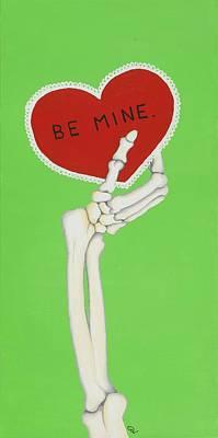 Wall Art - Painting - Be Mine by Deyanna Lambert