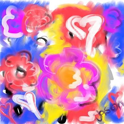 Digital Art - Be Mine by Jason Nicholas