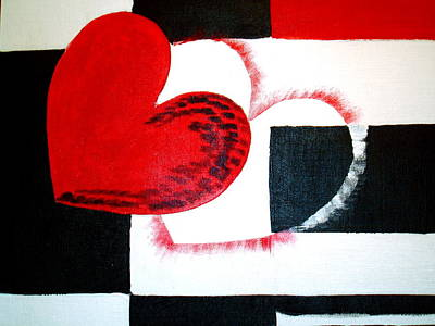 Painting - Be Mine by Sheila J Hall