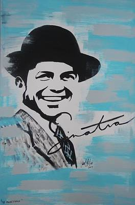 Painting - Be Moore Frank by Antonio Moore