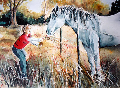 Wall Art - Painting - Be My Friend by Cheryl Bishop