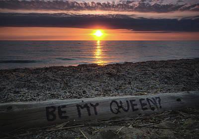 Be My Queen Art Print