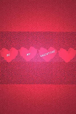 Be My Valentine Digital Art - Be My Valentine by Chellie Bock
