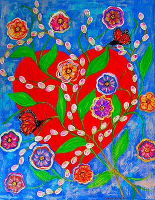 Painting - Be My Valentine by Gina Nicolae Johnson